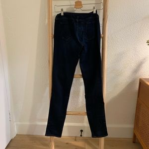 AG maternity jeans, dark wash, size 28R